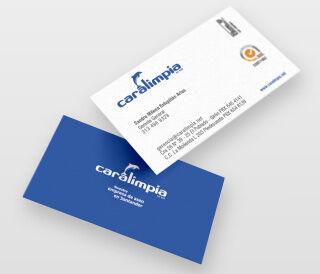Identidad corporativa - Caralimpia - Galanés Agencia de comunicación