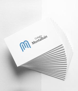Identidad corporativa - Colegio Montalban - Galanés Agencia de comunicación