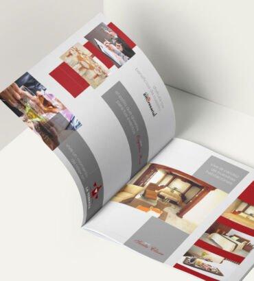 Brochure del Hotel Buena Vista, diseñado por Galanés Agencia de Comunicación.