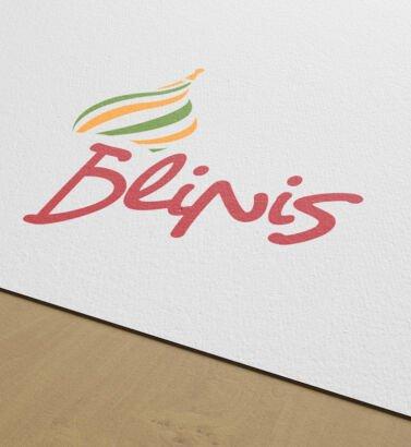 Hoja Membrete de Blinis, diseñada por Galanés Agencia de Comunicación.