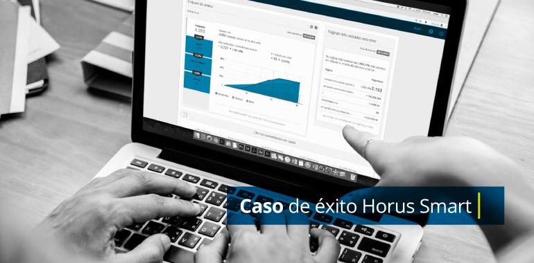Caso de éxito Horus Smart Control Blog Galanés Agencia de comunicación