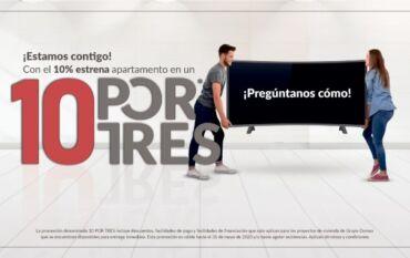 Marketing inmobiliario campaña 10P0RTRES Galanés Agencia de comunicación